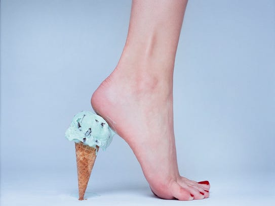 """Ice cream high heel"" by Tyler Shields."