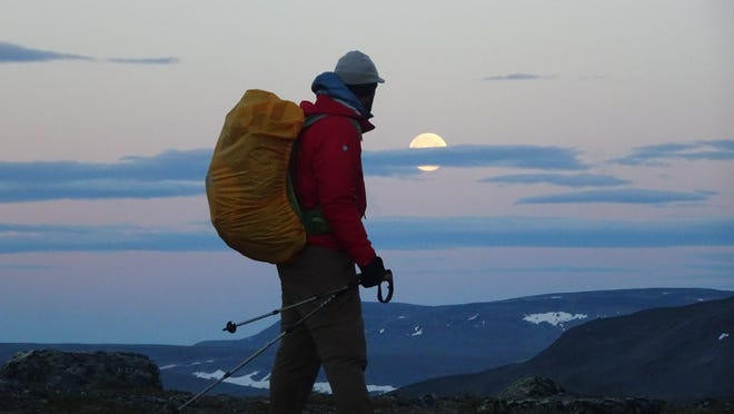 Daniel Alvarez walks through Finland.