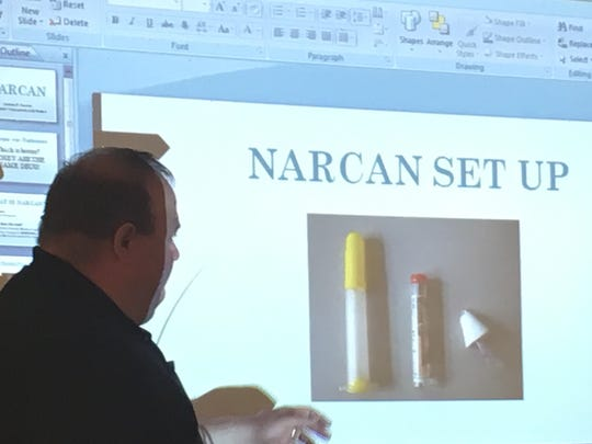 EMT Jordan Conner explains how Narcan, also known as