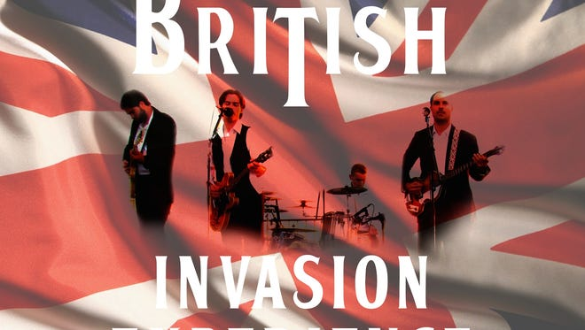 The British Invasion Experience will bring its tribute to the 1960s to the Wicomico Youth & Civic Center on Saturday, Jan. 14, 2017.