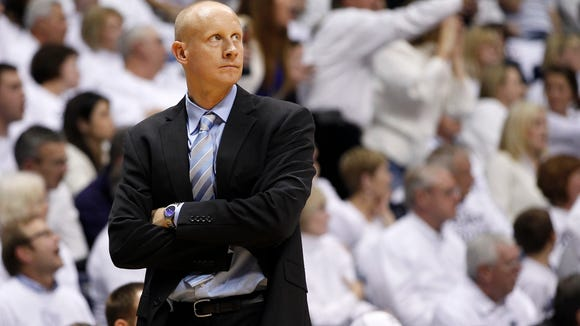 Xavier head coach Chris Mack