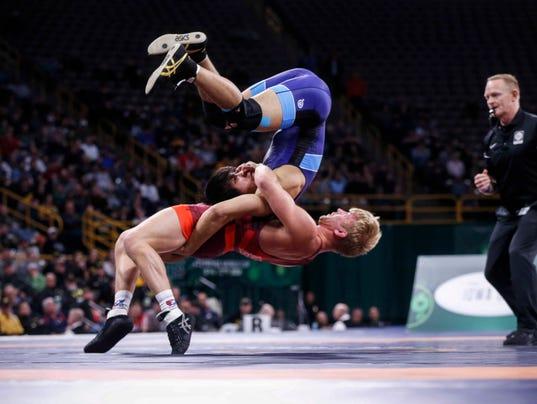 Team USA's Kyle Dake had all the big moves at the ...