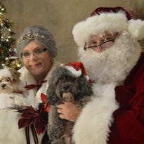 Bring your pet for pictures with Santa Claus at Clark County Humane Society