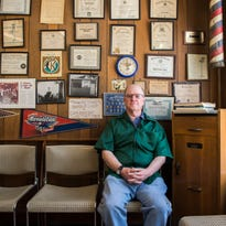 Cut from a different cloth: Tharp's Barber Shop takes customers back in time