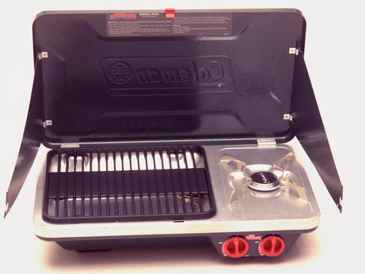 The Coleman Powermax Grill Stove.