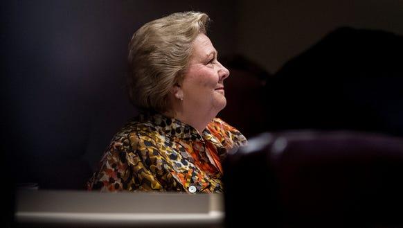 Rep. Elaine Beech (D) on the house floor in the Alabama