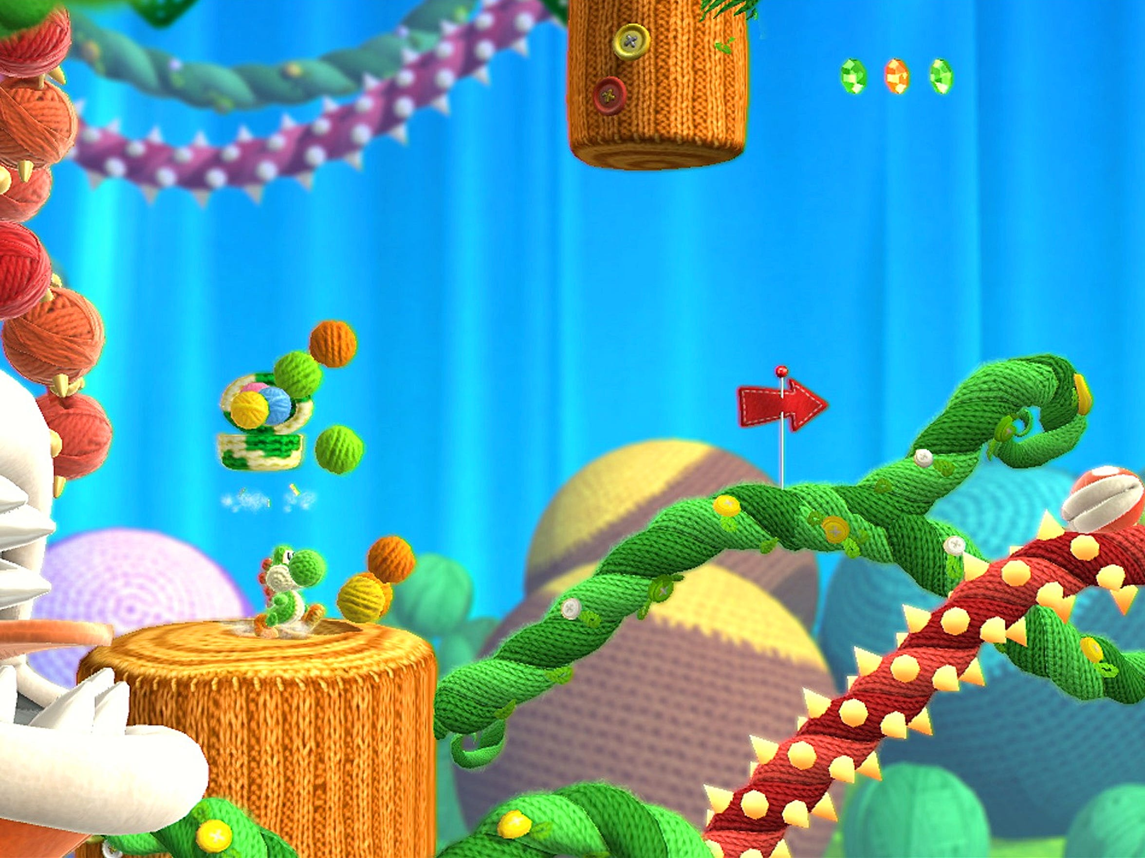 """Platforming in """"Yoshi's Woolly World"""" is polished and designed to be accessible to gamers of all skill levels."""