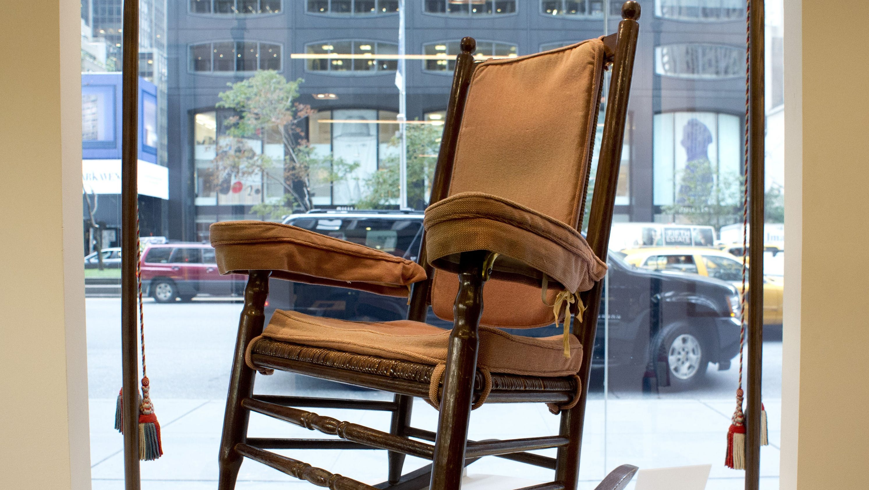 JFK rocking chair other items up for auction