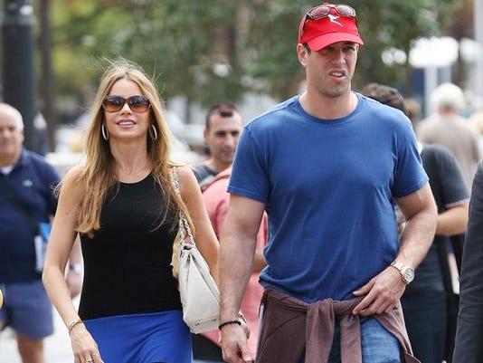 Sofia Vergara and ex-fiancé Nick Loeb