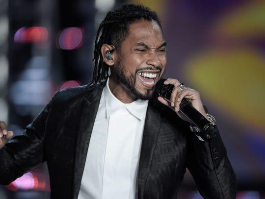 Singer Miguel's 'War and Leisure' tour kicks off Feb.