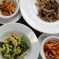 Check out the new gluten-free, vegan pasta at Chickpea