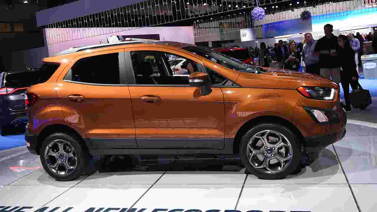Ford S New Ecosport Suv Will Be Imported From India