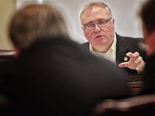 County Commissioner Mark Billingsley