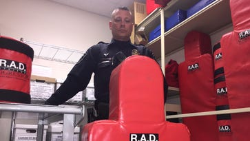 West Lafayette police Officer Marcus Slifer, who is a certified RAD instructor, said the women's self-defense classes teach students how to react if threatened by an assailant.