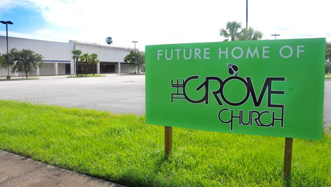 The Grove Church has just purchased the abandoned Gooding's grocery store at the intersection of Harrison Street and Barna Avenue in Titusville.