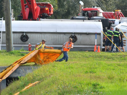 Palm Bay's Malabar Road reopened after tanker wreck