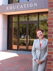 Marcy Driscoll, dean of the College of Education at