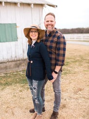 Bart Millard and his wife, Shannon