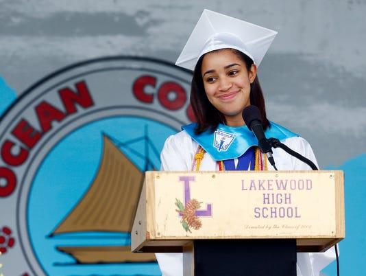 Lakewood High School graduation