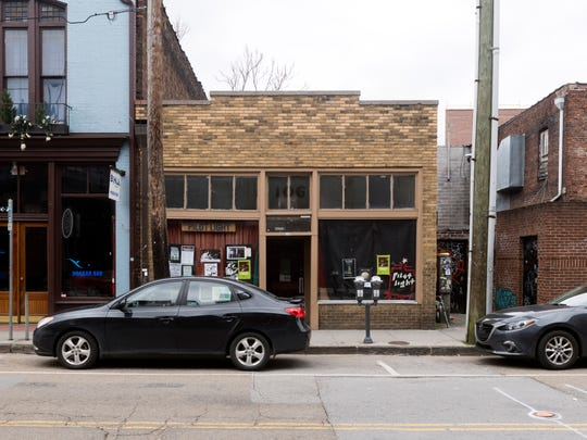 The Pilot Light on Jackson Ave. is one of this year's Big Ears venues pictured on Wednesday, March 7, 2018.