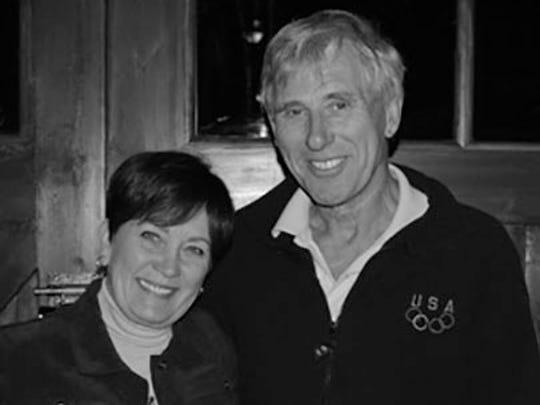 Rita and Peter Howard pose for a photo. Peter Howard passed away Saturday.