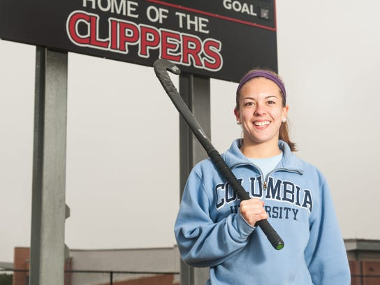 Keegan Marsh plays field hockey for Columbia University.