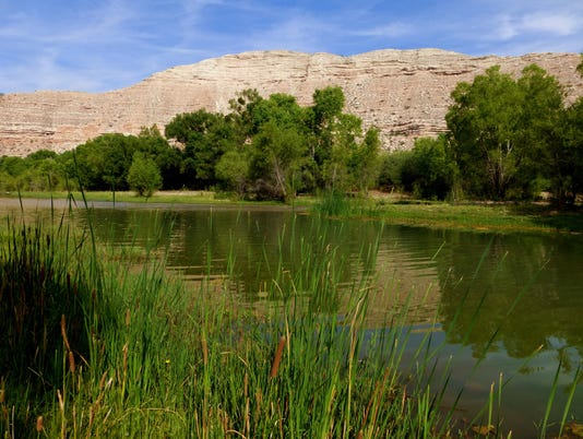 Clarkdale section of the Verde River