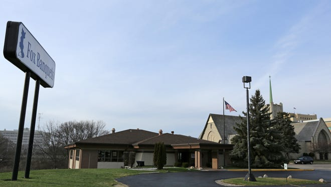 Fox Banquets is located on the bluff overlooking the Fox River in Appleton. It neighbors Trinity Lutheran Church.