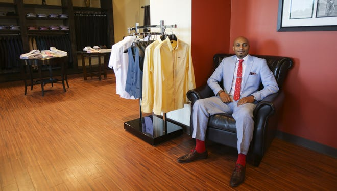 Ben Diallo opened his J. Benzal — first on Mass Ave and now also in Carmel — for a very simple reason: He couldn't find any stores he liked.
