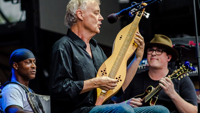 "Bruce Hornsby and the Noisemakers perform ""The Way It is"" at the Eaux Claires music and art festival in 2016."
