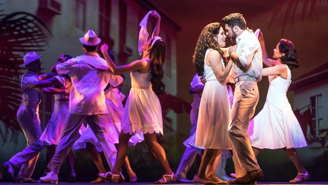 """On Your Feet!"" is a jukebox musical filled with the hits of Gloria Estefan and Miami Sound Machine."