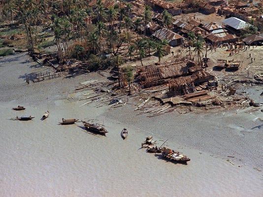Bangladesh Disaster Cyclone
