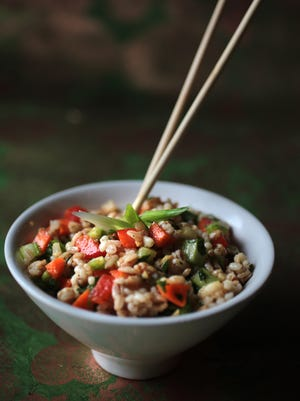 Asian Multi-Grain Rice Salad