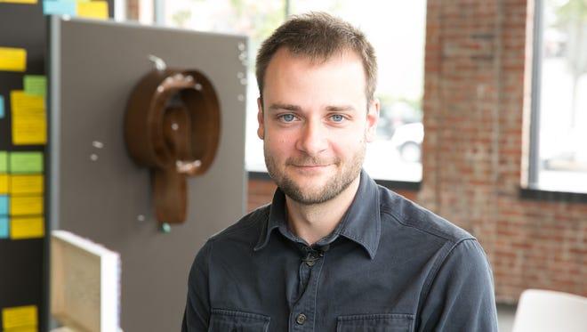 Pinterest co-founder Evan Sharp.