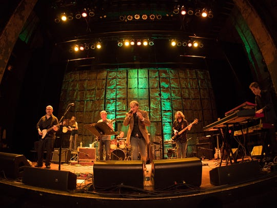 Keep It Dark (Andy Faver, Christine McAllister, Adam Beck, Matt Urban, Joe Trainor, Christian Salcedo and Joe Cardillo) perform a set of songs by the band Genesis at World Cafe Live at the Queen in Wilmington on May 14, 2016.