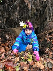 """A girl gets into nature during Woodland Dunes' """"Be"""