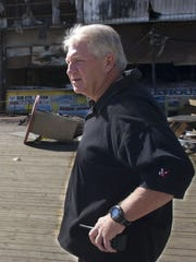 Seaside Heights police chief Thomas Boyd in September 2013.
