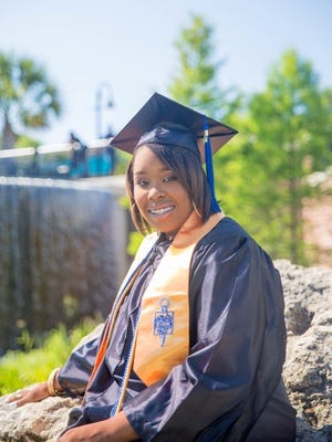 Brianna Surrency, a Leon High School senior, overcame health problems to graduate both Leon and Tallahassee Community College with her AA in the same month.