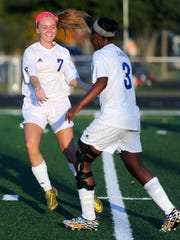 Chillicothe's Payten Davis (7), girls soccer player of the year.