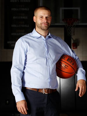 Bryant men's basketball assistant coach Chris Burns became the first openly-gay coach in Division I basketball.