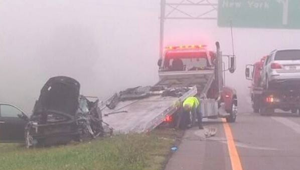A fatal head-on crash took place Thursday morning near Exit 3 on Interstate 81.