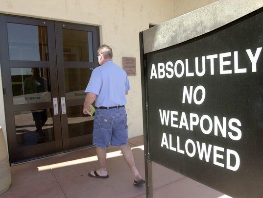 guns in public