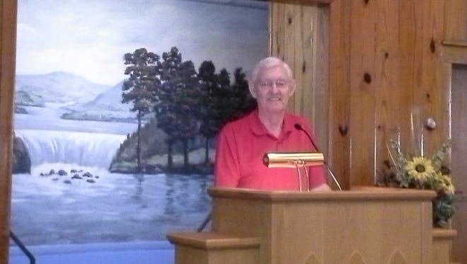 Water Street Church of Christ Pastor Robert Cullom died Wednesday.