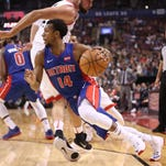Pistons observations: Ish Smith at point over a rusty Reggie Jackson?