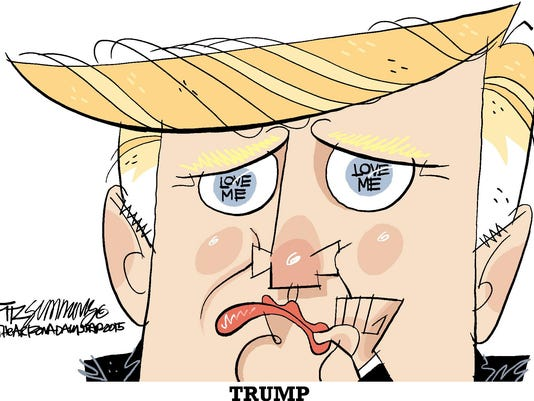 trump cartoon