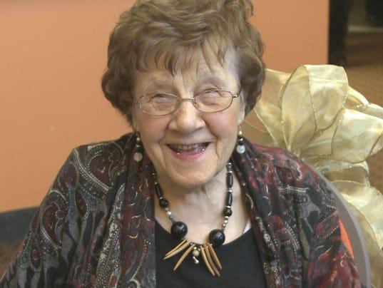 100 year old exercise instructor's longevity secret