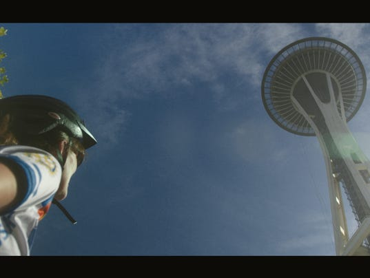 Business traveler Debra Fine visits the Space Needle on a trip to Seattle. (Photo: GET Creative)