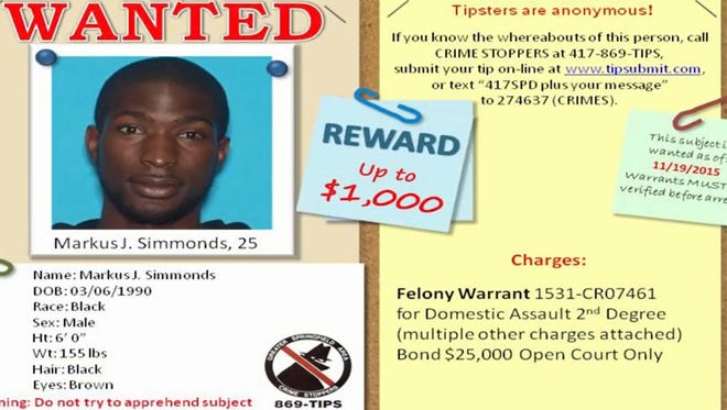 Crime Stoppers asking for public's help finding domestic assault suspect.