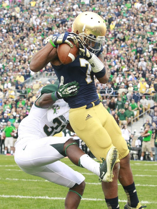 Michigan State at Notre Dame