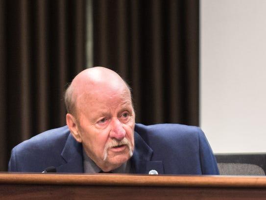 Commissioner Mike Fryar